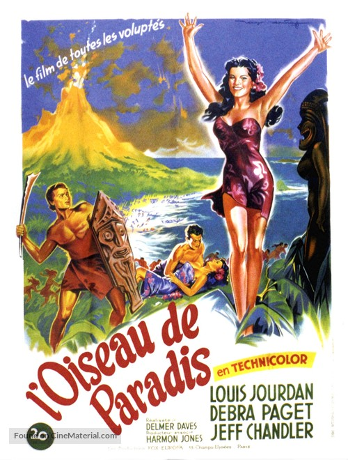 Bird of Paradise - French Movie Poster