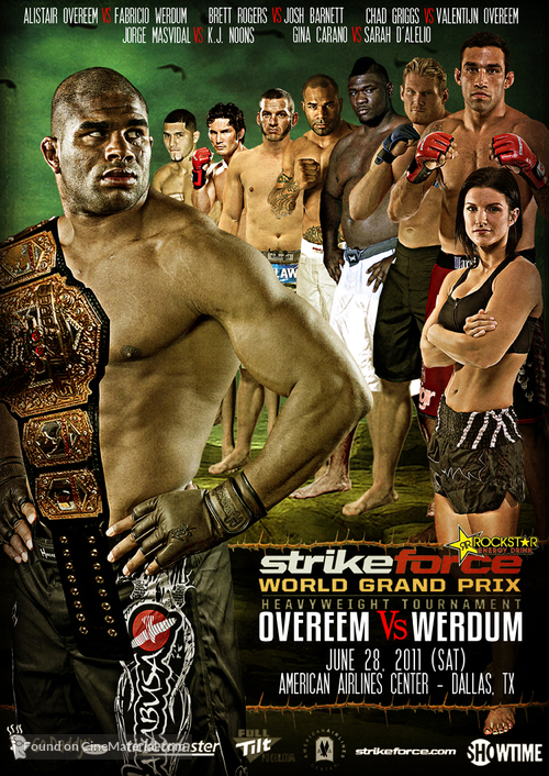"""Strikeforce"" - Movie Poster"
