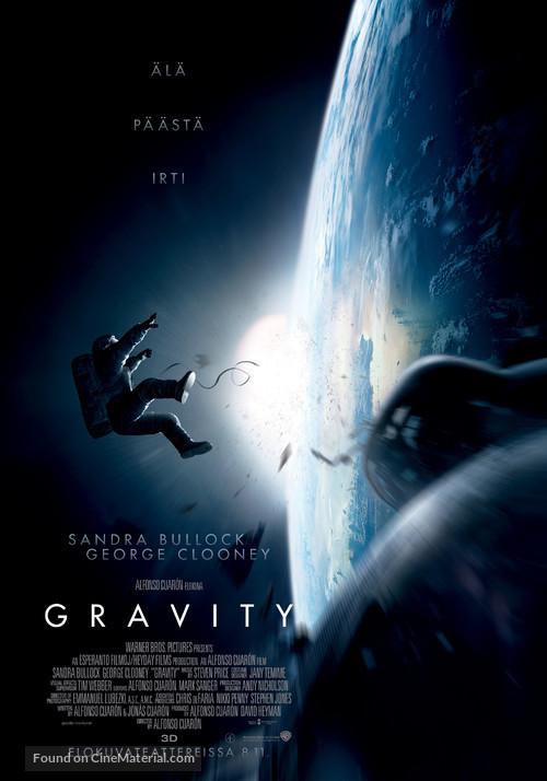 Gravity - Finnish Movie Poster