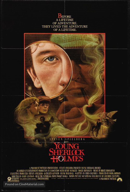 Young Sherlock Holmes - Movie Poster