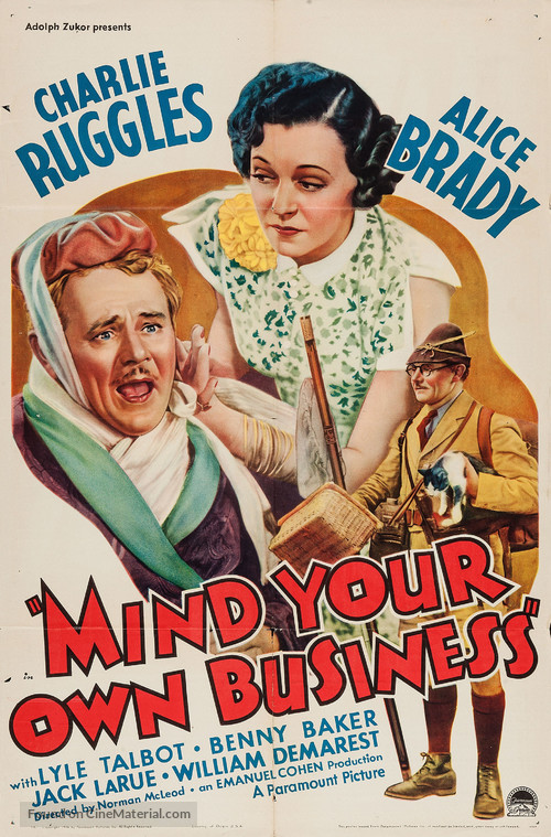 Mind Your Own Business - Movie Poster