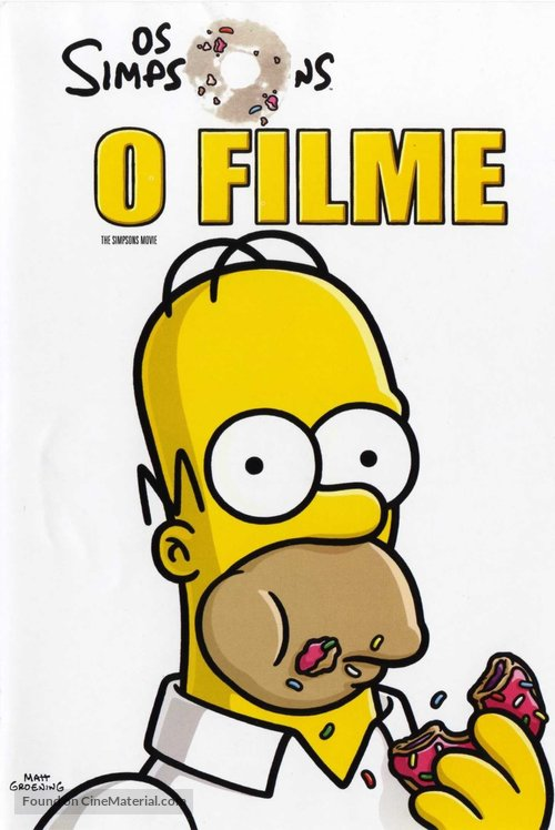 The Simpsons Movie - Portuguese Movie Cover