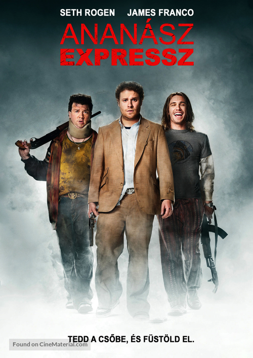Pineapple Express - Hungarian Movie Poster