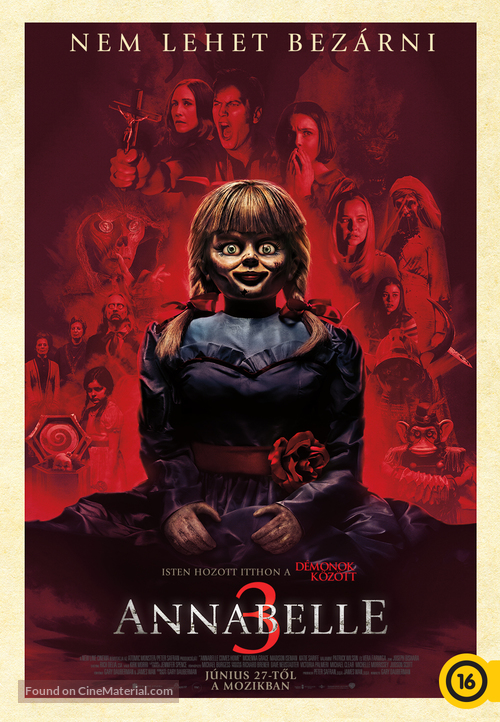 Annabelle Comes Home - Hungarian Movie Poster