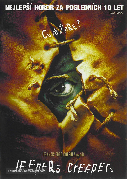 Jeepers Creepers - Czech Movie Cover