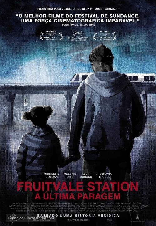 Fruitvale Station - Portuguese Movie Poster