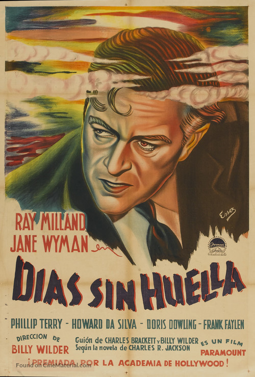 The Lost Weekend - Argentinian Movie Poster