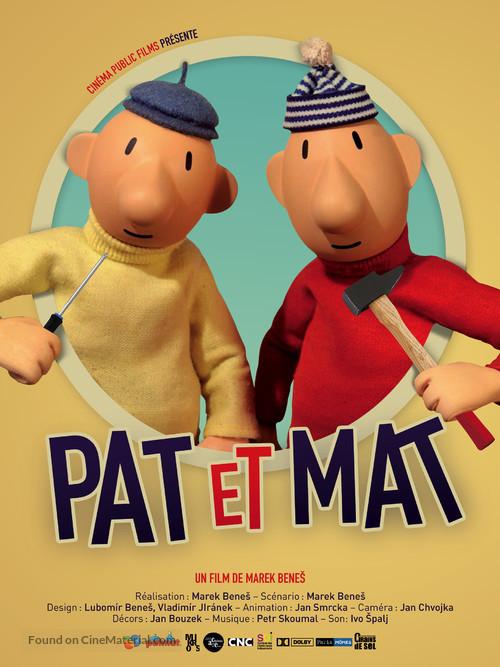 """""""Pat & Mat"""" - Belgian Movie Poster"""
