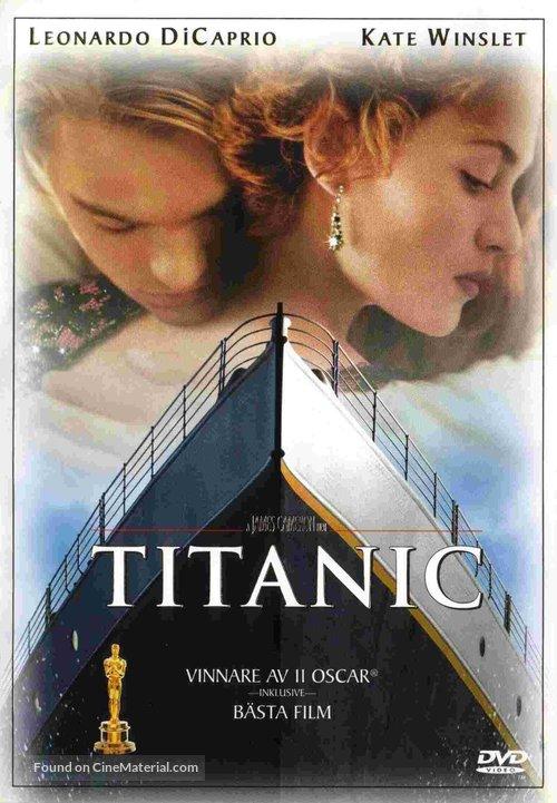 Titanic - Swedish Movie Cover