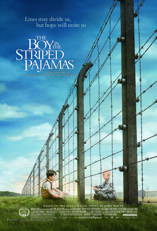 The Boy in the Striped Pyjamas - Movie Poster