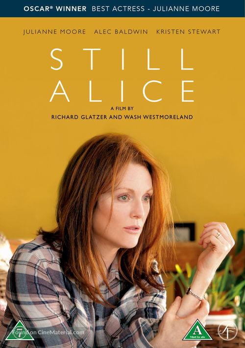 Still Alice - Danish Movie Cover