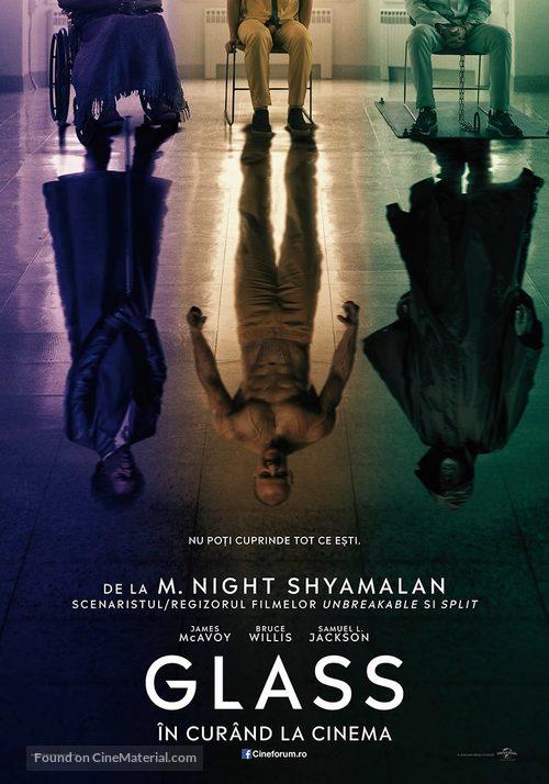 Glass - Romanian Movie Poster