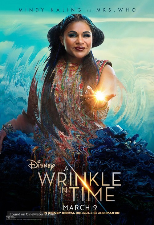 A Wrinkle in Time - Movie Poster