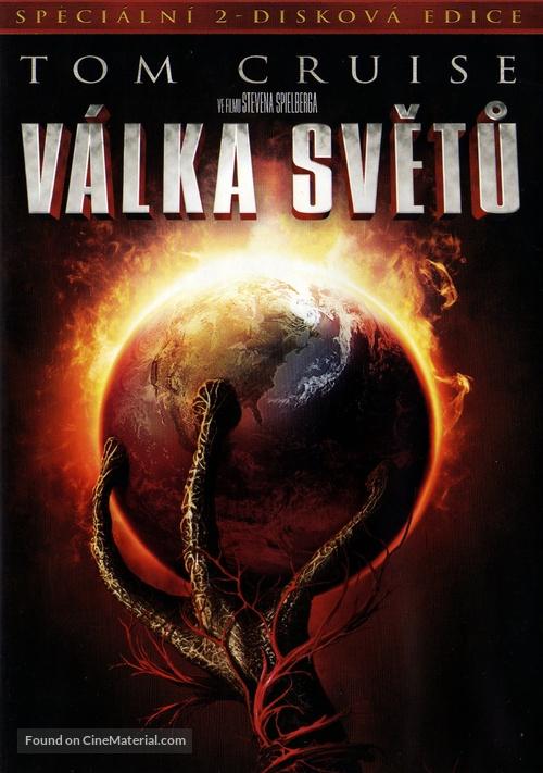 War of the Worlds - Czech DVD movie cover