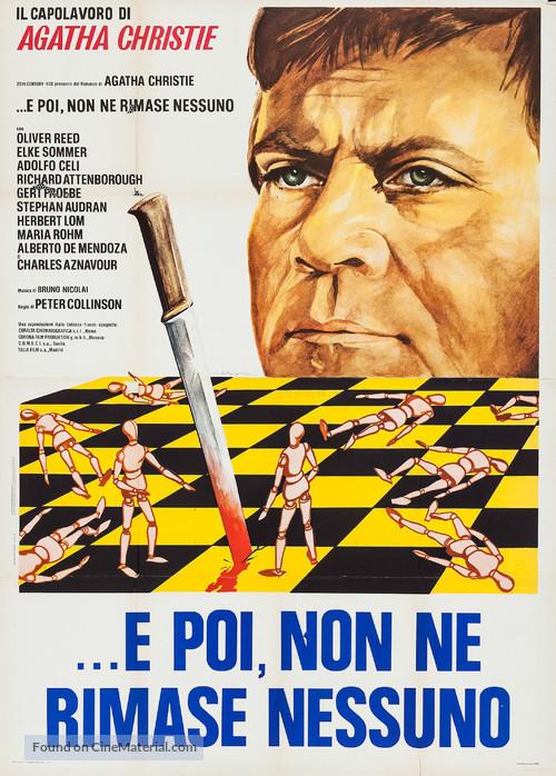 Ein unbekannter rechnet ab - Italian Movie Poster