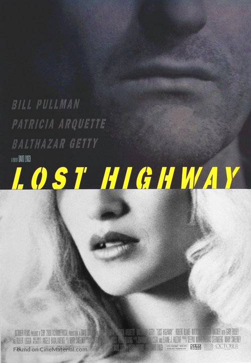 Lost Highway - Movie Poster