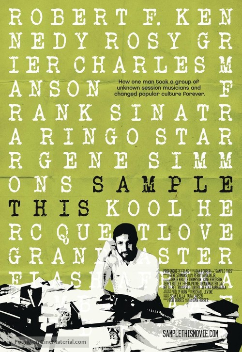 Sample This - Movie Poster