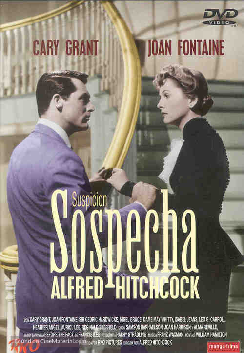 Suspicion - Spanish DVD movie cover