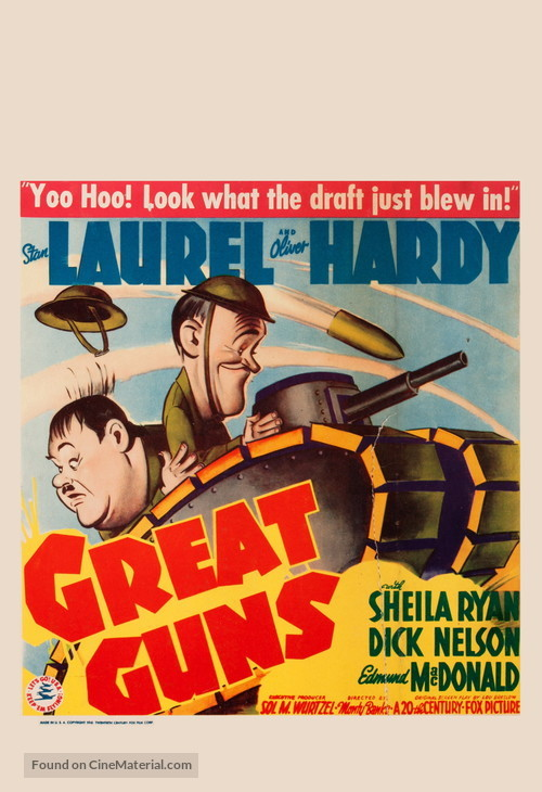Great Guns - Movie Poster