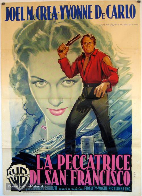 The San Francisco Story - Italian Movie Poster