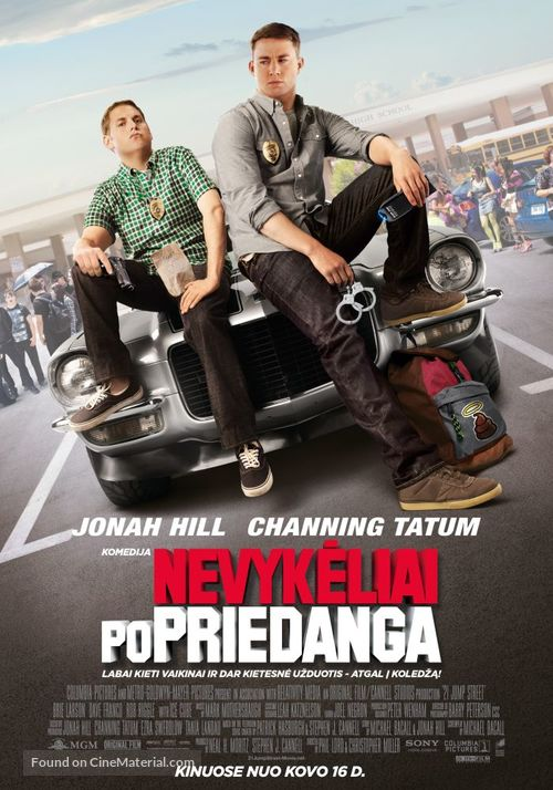 21 Jump Street - Lithuanian Movie Poster