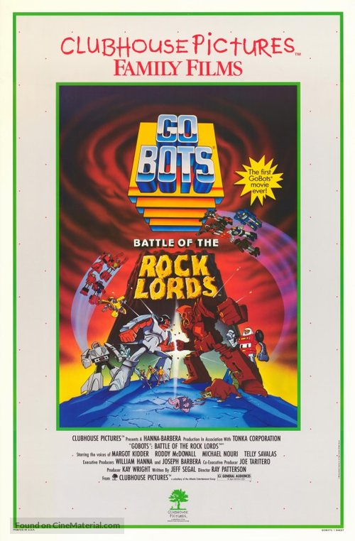 GoBots: War of the Rock Lords - Movie Poster