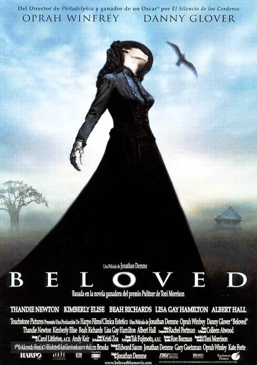 Beloved - Spanish Movie Poster