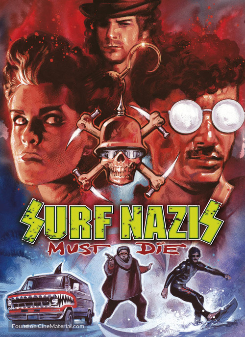 Surf Nazis Must Die - Movie Poster