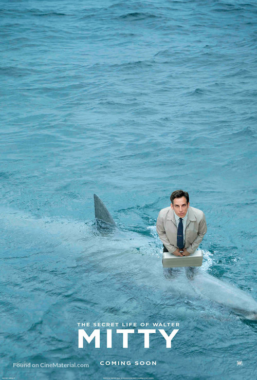 The Secret Life of Walter Mitty - Movie Poster