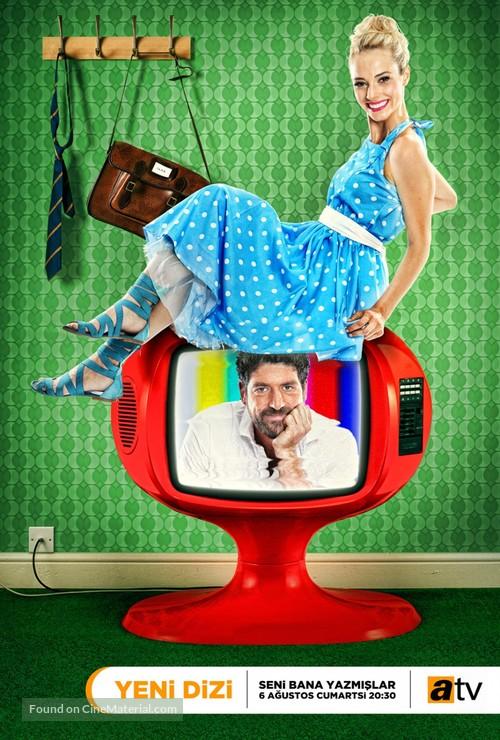 """Seni Bana Yazmislar"" - Turkish Movie Poster"