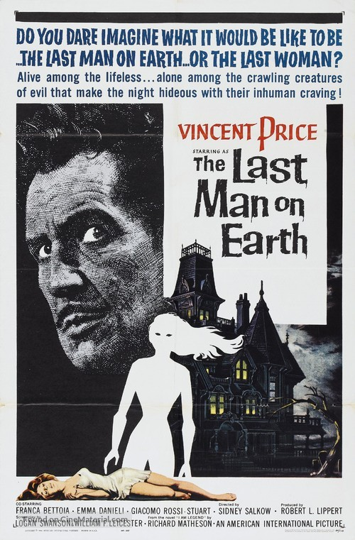 The Last Man on Earth - Movie Poster
