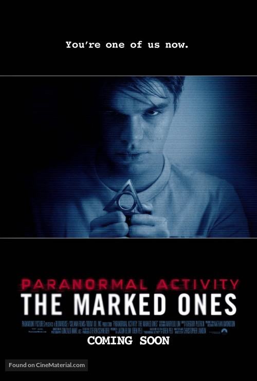 Paranormal Activity: The Marked Ones - Movie Poster