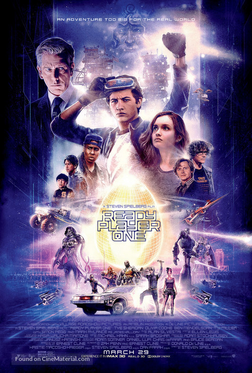 Ready Player One - Theatrical movie poster