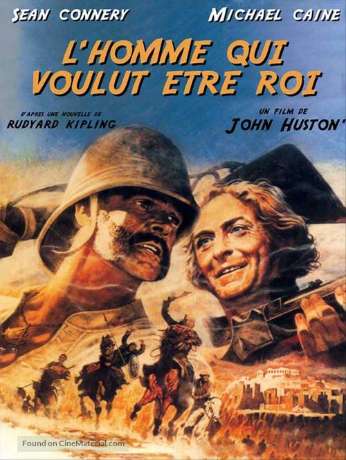 The Man Who Would Be King - French Movie Poster
