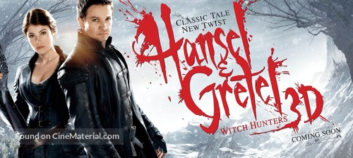 Hansel & Gretel: Witch Hunters - Movie Poster