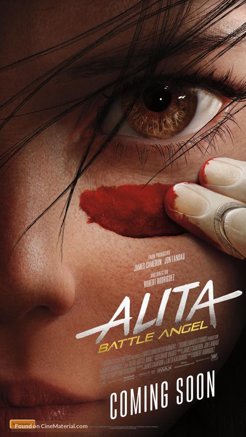 Alita: Battle Angel - Australian Movie Poster