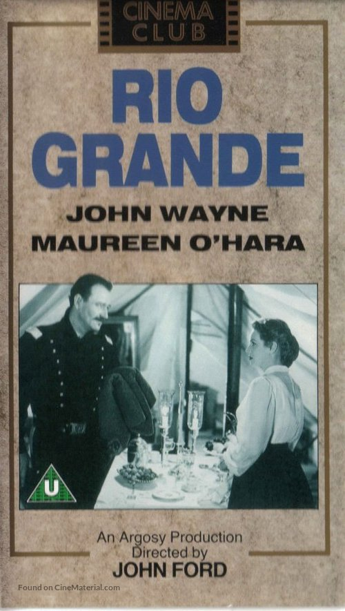 Rio Grande - British Movie Cover