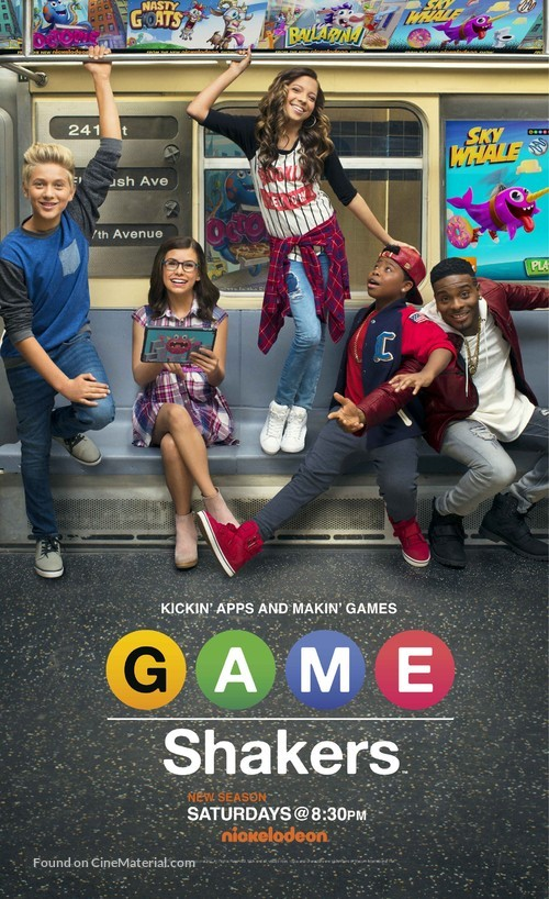 """Game Shakers"" - Movie Poster"