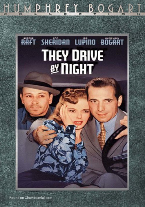 They Drive by Night - VHS cover