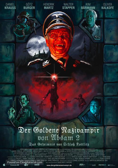 Der Goldene Nazivampir von Absam 2 - Das Geheimnis von Schloß Kottlitz - German Movie Poster