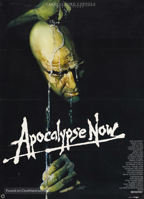 Apocalypse Now - German Movie Poster