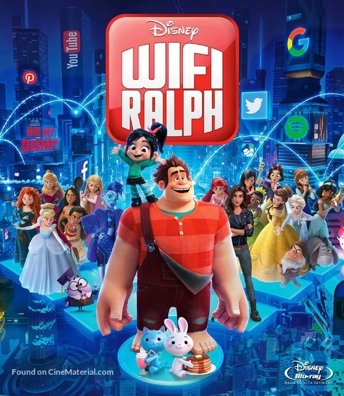 Ralph Breaks the Internet - Brazilian Movie Cover