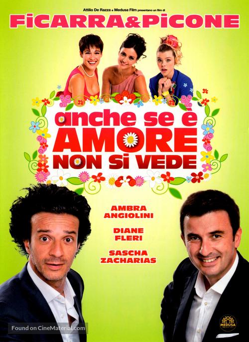 Anche se è Amore non si vede - Italian Movie Cover