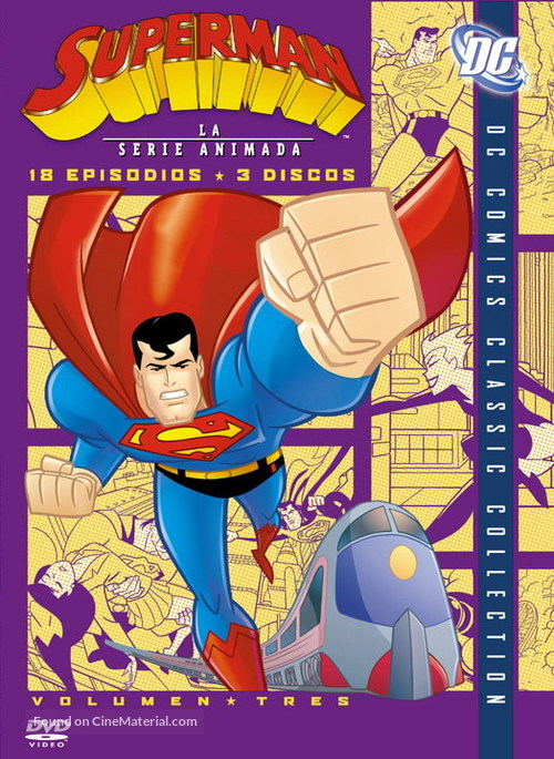 """""""Superman"""" - Argentinian DVD movie cover"""