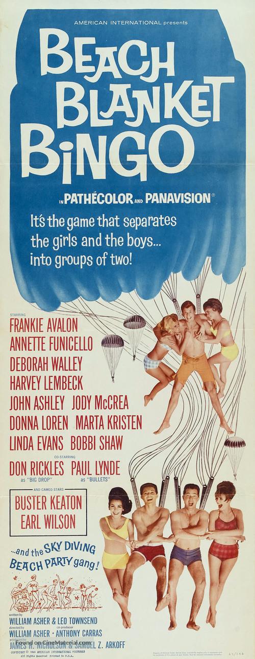 Beach Blanket Bingo - Movie Poster