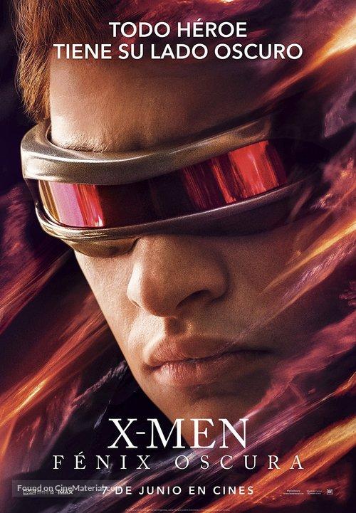 Dark Phoenix - Spanish Movie Poster
