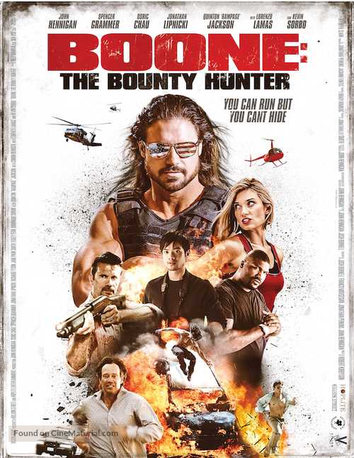 Boone: The Bounty Hunter - Movie Poster