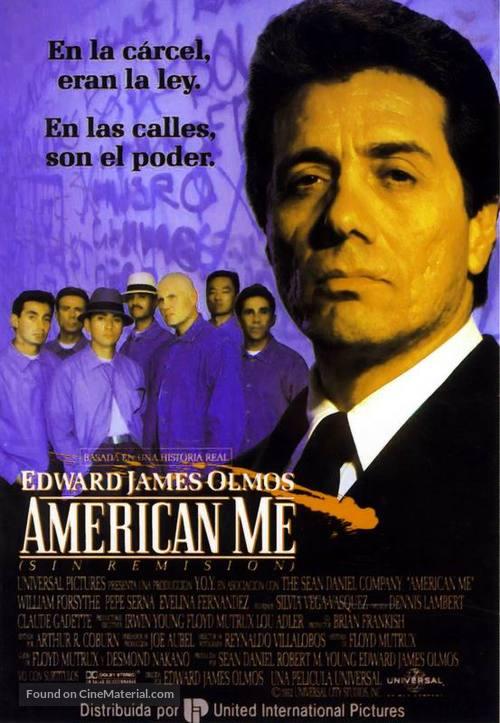 American Me - Spanish Movie Poster