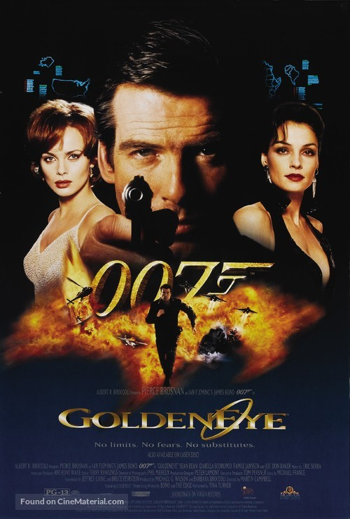 GoldenEye - Movie Poster