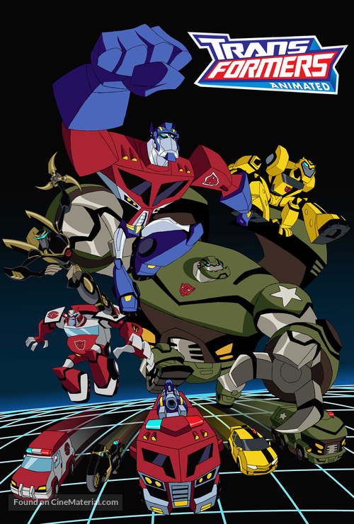 """""""Transformers: Animated"""" - Movie Poster"""